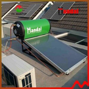 project pemasangan handal water heater 2