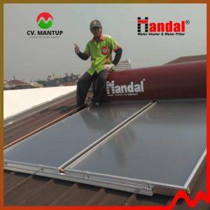 project pemasangan handal water heater 6