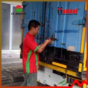 project pemasangan handal water heater 7
